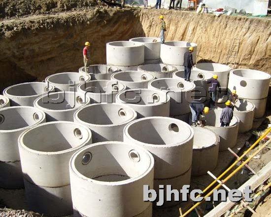 化粪池提供生产天津钢筋混凝土预制化粪池厂家