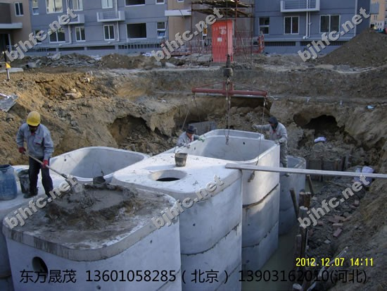 化粪池提供生产方形预制化粪池厂家厂家